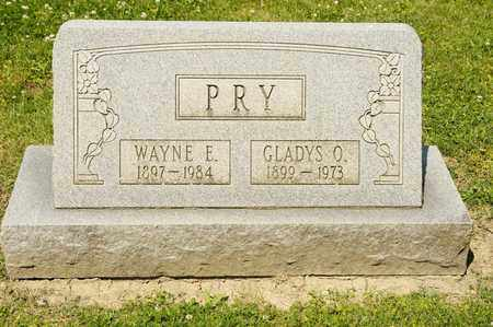 PRY, GLADYS O - Richland County, Ohio | GLADYS O PRY - Ohio Gravestone Photos