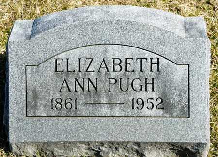 PUGH, ELIZABETH ANN - Richland County, Ohio | ELIZABETH ANN PUGH - Ohio Gravestone Photos