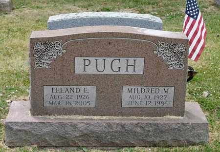PUGH, LELAND E - Richland County, Ohio | LELAND E PUGH - Ohio Gravestone Photos