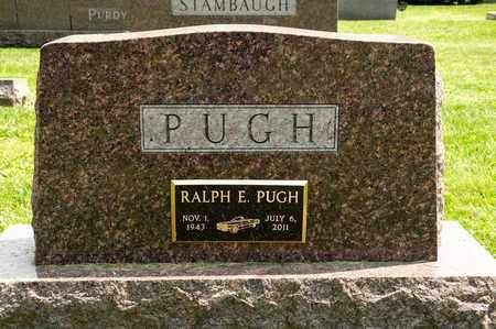 PUGH, RALPH E - Richland County, Ohio | RALPH E PUGH - Ohio Gravestone Photos
