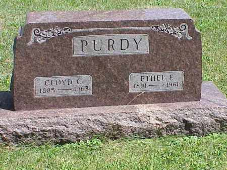 PURDY, ETHEL F. - Richland County, Ohio | ETHEL F. PURDY - Ohio Gravestone Photos