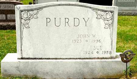 PURDY, JOHN W - Richland County, Ohio | JOHN W PURDY - Ohio Gravestone Photos