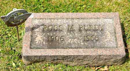 PURDY, ROSS M - Richland County, Ohio | ROSS M PURDY - Ohio Gravestone Photos