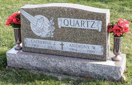 QUARTZ, ANTHONY W - Richland County, Ohio | ANTHONY W QUARTZ - Ohio Gravestone Photos