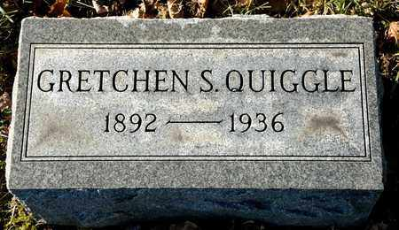 QUIGGLE, GRETCHEN S - Richland County, Ohio | GRETCHEN S QUIGGLE - Ohio Gravestone Photos