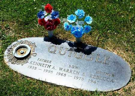 QUIGGLE, KENNTH A - Richland County, Ohio | KENNTH A QUIGGLE - Ohio Gravestone Photos