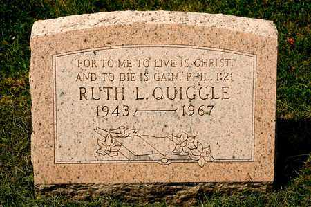 QUIGGLE, RUTH L - Richland County, Ohio | RUTH L QUIGGLE - Ohio Gravestone Photos
