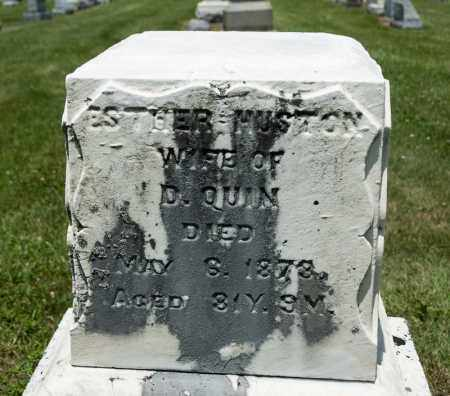 HUSTON QUIN, ESTHER - Richland County, Ohio | ESTHER HUSTON QUIN - Ohio Gravestone Photos