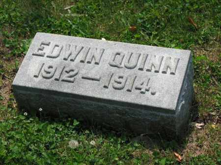 QUINN, EDWIN - Richland County, Ohio | EDWIN QUINN - Ohio Gravestone Photos