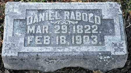 RABOLD, DANIEL - Richland County, Ohio | DANIEL RABOLD - Ohio Gravestone Photos