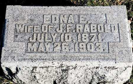 RABOLD, EDNA E - Richland County, Ohio | EDNA E RABOLD - Ohio Gravestone Photos