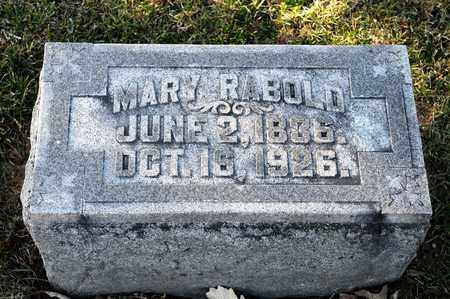 RABOLD, MARY - Richland County, Ohio | MARY RABOLD - Ohio Gravestone Photos