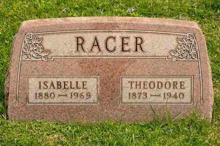 RACER, ISABELLE - Richland County, Ohio | ISABELLE RACER - Ohio Gravestone Photos