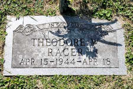 RACER, THEODORE W - Richland County, Ohio | THEODORE W RACER - Ohio Gravestone Photos