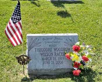 RACER, THEODORE WOODROW WILSON - Richland County, Ohio | THEODORE WOODROW WILSON RACER - Ohio Gravestone Photos