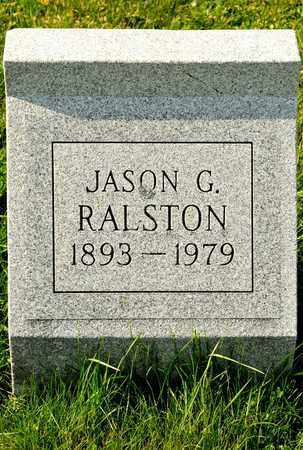 RALSTON, JASON G - Richland County, Ohio | JASON G RALSTON - Ohio Gravestone Photos