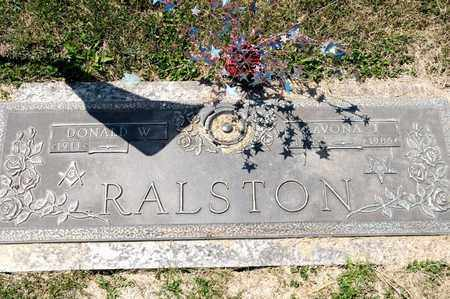 RALSTON, LAVONA J - Richland County, Ohio | LAVONA J RALSTON - Ohio Gravestone Photos