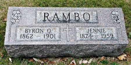 RAMBO, BYRON O - Richland County, Ohio | BYRON O RAMBO - Ohio Gravestone Photos
