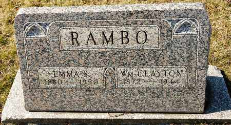 RAMBO, WILLIAM CLAYTON - Richland County, Ohio | WILLIAM CLAYTON RAMBO - Ohio Gravestone Photos