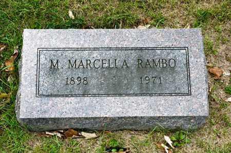 RAMBO, M MARCELLA - Richland County, Ohio | M MARCELLA RAMBO - Ohio Gravestone Photos