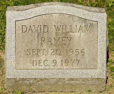 RAMEY, DAVID WILLIAM - Richland County, Ohio | DAVID WILLIAM RAMEY - Ohio Gravestone Photos