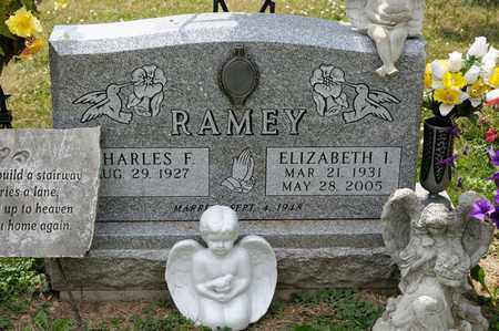 RAMEY, ELIZABETH I - Richland County, Ohio | ELIZABETH I RAMEY - Ohio Gravestone Photos