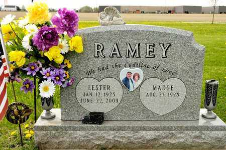 RAMEY, LESTER - Richland County, Ohio | LESTER RAMEY - Ohio Gravestone Photos