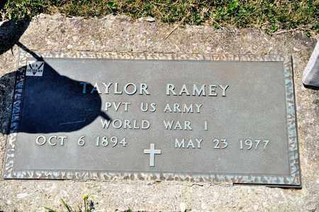 RAMEY, TAYLOR - Richland County, Ohio | TAYLOR RAMEY - Ohio Gravestone Photos