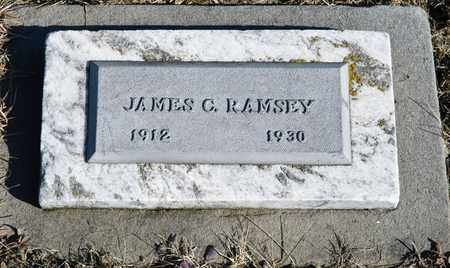 RAMSEY, JAMES C - Richland County, Ohio | JAMES C RAMSEY - Ohio Gravestone Photos