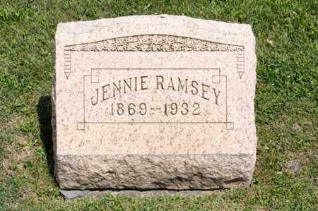 RAMSEY, JENNIE - Richland County, Ohio | JENNIE RAMSEY - Ohio Gravestone Photos