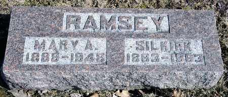 RAMSEY, MARY A - Richland County, Ohio | MARY A RAMSEY - Ohio Gravestone Photos