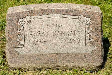 RANDALL, A RAY - Richland County, Ohio | A RAY RANDALL - Ohio Gravestone Photos