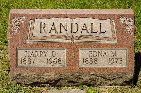 RANDALL, HARRY D - Richland County, Ohio | HARRY D RANDALL - Ohio Gravestone Photos