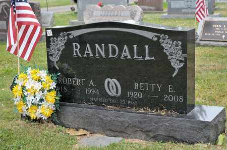 RANDALL, BETTY E - Richland County, Ohio | BETTY E RANDALL - Ohio Gravestone Photos
