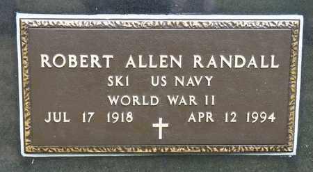 RANDALL, ROBERT ALLEN - Richland County, Ohio | ROBERT ALLEN RANDALL - Ohio Gravestone Photos