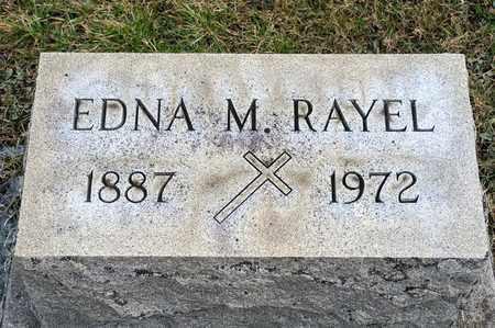 RAYEL, EDNA M - Richland County, Ohio   EDNA M RAYEL - Ohio Gravestone Photos