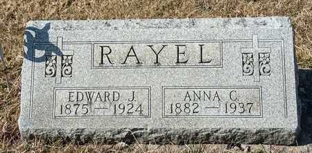 RAYEL, EDWARD J - Richland County, Ohio | EDWARD J RAYEL - Ohio Gravestone Photos