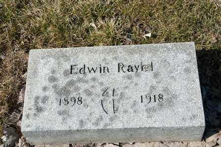 RAYEL, EDWIN - Richland County, Ohio | EDWIN RAYEL - Ohio Gravestone Photos