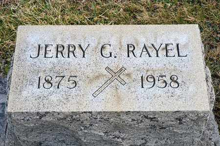 RAYEL, JERRY G - Richland County, Ohio | JERRY G RAYEL - Ohio Gravestone Photos
