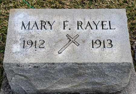 RAYEL, MARY F - Richland County, Ohio | MARY F RAYEL - Ohio Gravestone Photos