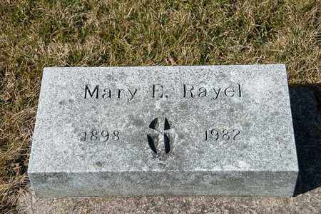 RAYEL, MARY E - Richland County, Ohio | MARY E RAYEL - Ohio Gravestone Photos