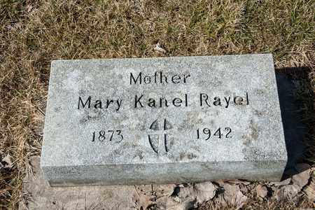 RAYEL, MARY - Richland County, Ohio | MARY RAYEL - Ohio Gravestone Photos