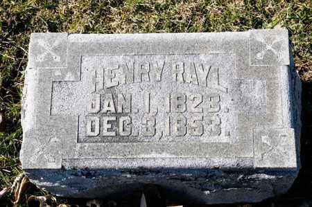 RAYL, HENRY - Richland County, Ohio | HENRY RAYL - Ohio Gravestone Photos