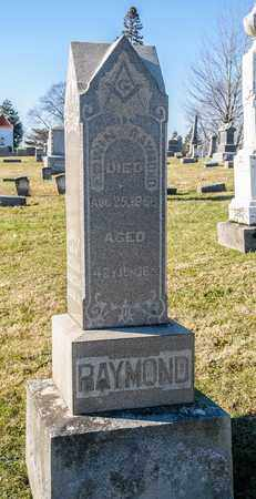 RAYMOND, EDWIN - Richland County, Ohio | EDWIN RAYMOND - Ohio Gravestone Photos