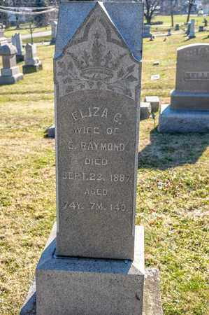 RAYMOND, ELIZA G - Richland County, Ohio | ELIZA G RAYMOND - Ohio Gravestone Photos