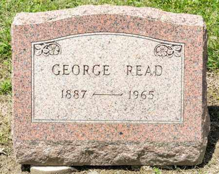 READ, GEORGE - Richland County, Ohio | GEORGE READ - Ohio Gravestone Photos