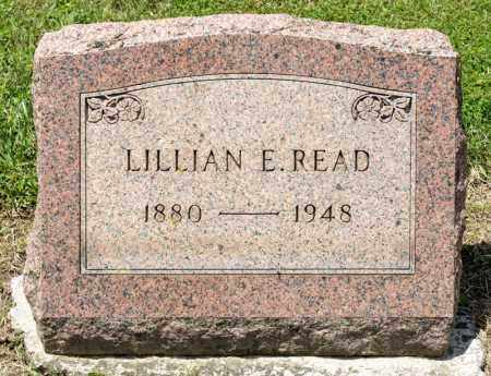 READ, LILLIAN E - Richland County, Ohio | LILLIAN E READ - Ohio Gravestone Photos