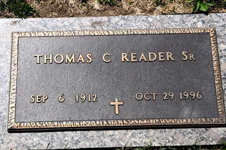 READER SR, THOMAS C - Richland County, Ohio | THOMAS C READER SR - Ohio Gravestone Photos