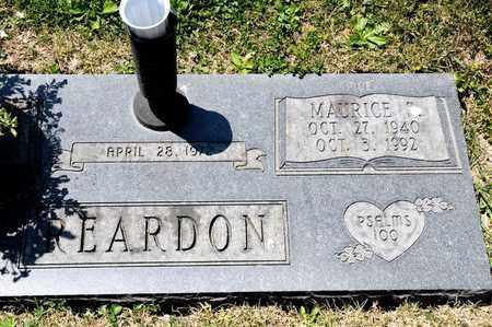 REARDON, MAURICE S - Richland County, Ohio | MAURICE S REARDON - Ohio Gravestone Photos