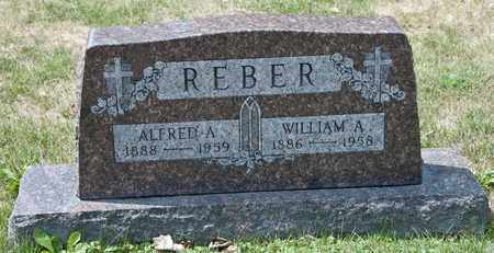 REBER, WILLIAM A - Richland County, Ohio | WILLIAM A REBER - Ohio Gravestone Photos